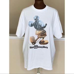 Walt Disney World Mickey Mouse T Shirt XL